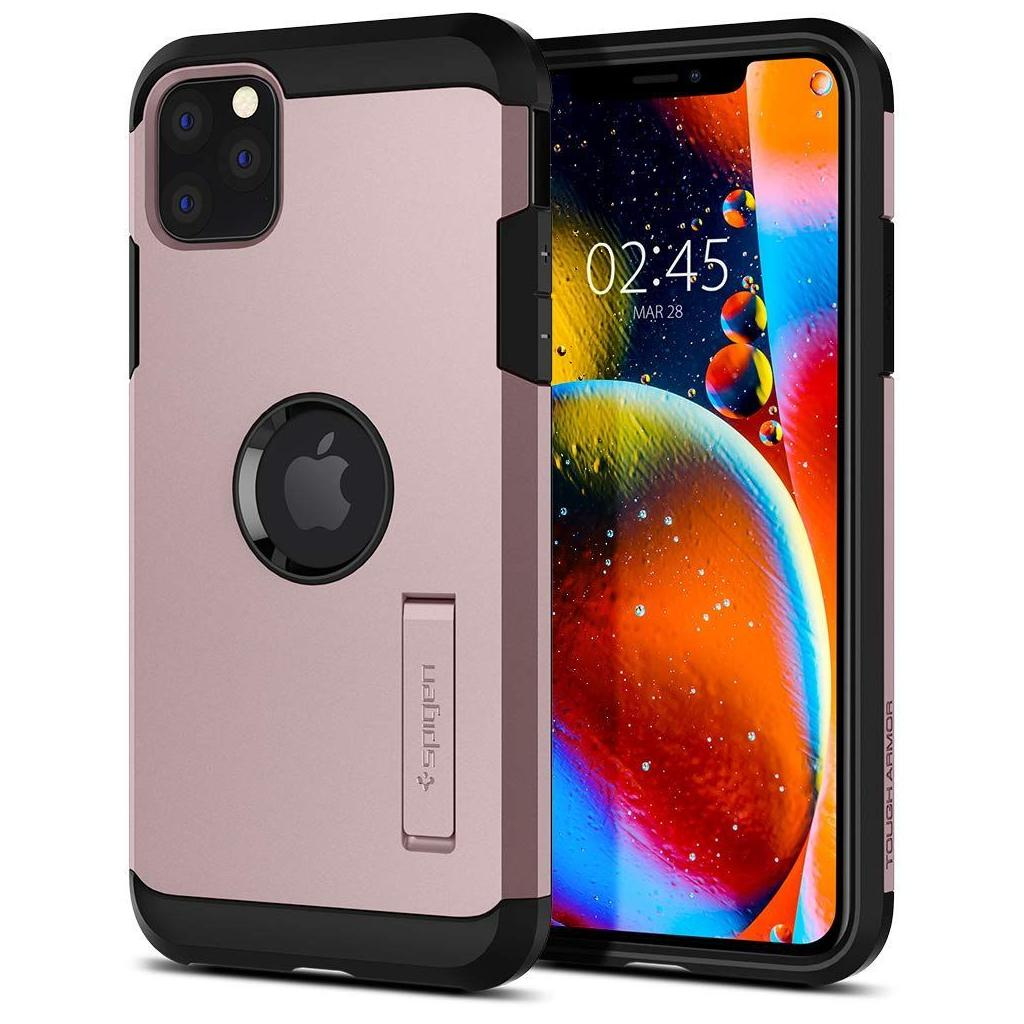 Spigen® Tough Armor™ 075CS27144 iPhone 11 Pro Max Case - Rose Gold