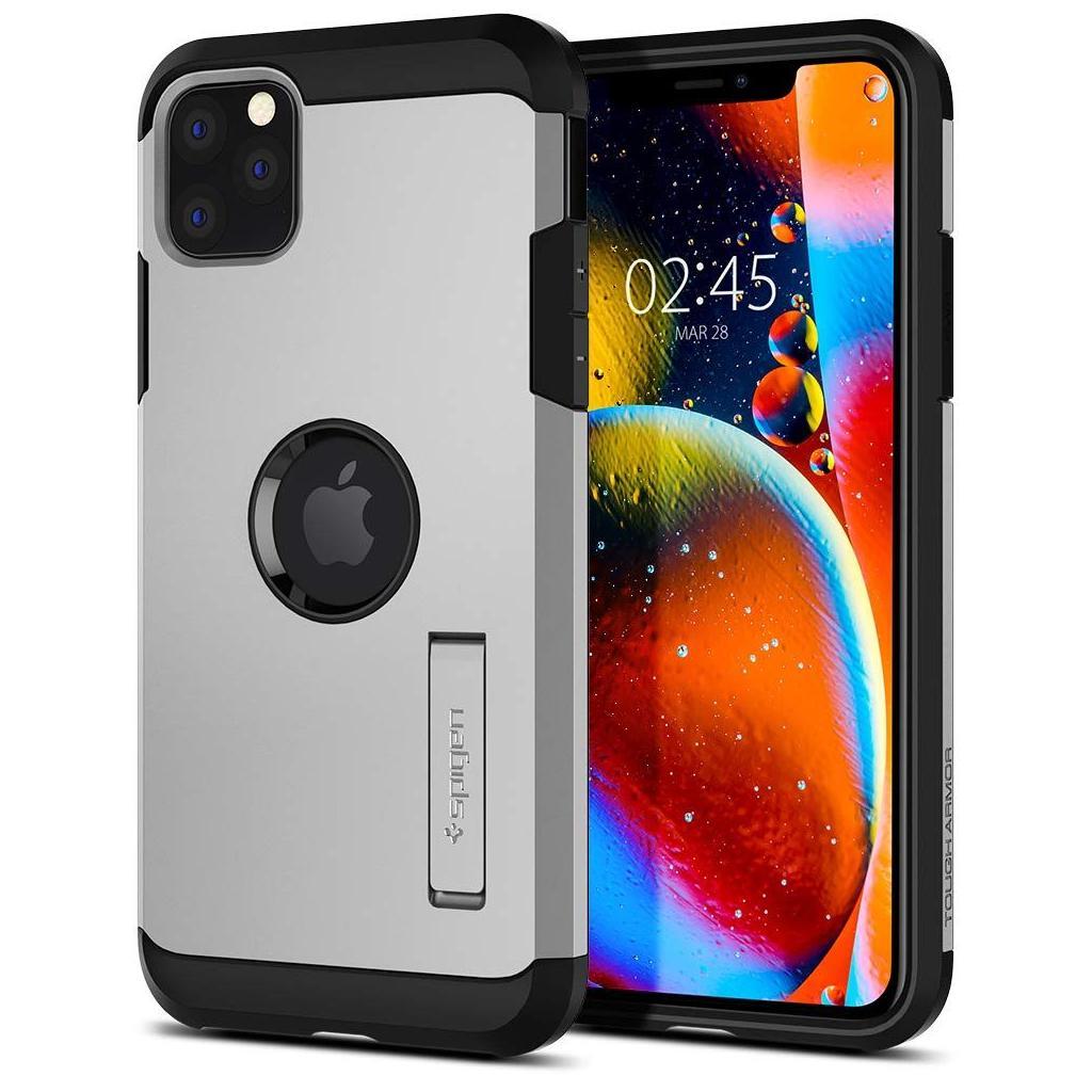Spigen® Tough Armor™ 077CS27241 iPhone 11 Pro Case - Satin Silver