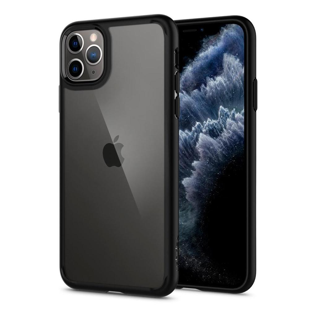 Spigen® Ultra Hybrid™ 075CS27136 iPhone 11 Pro Max Case - Matte Black