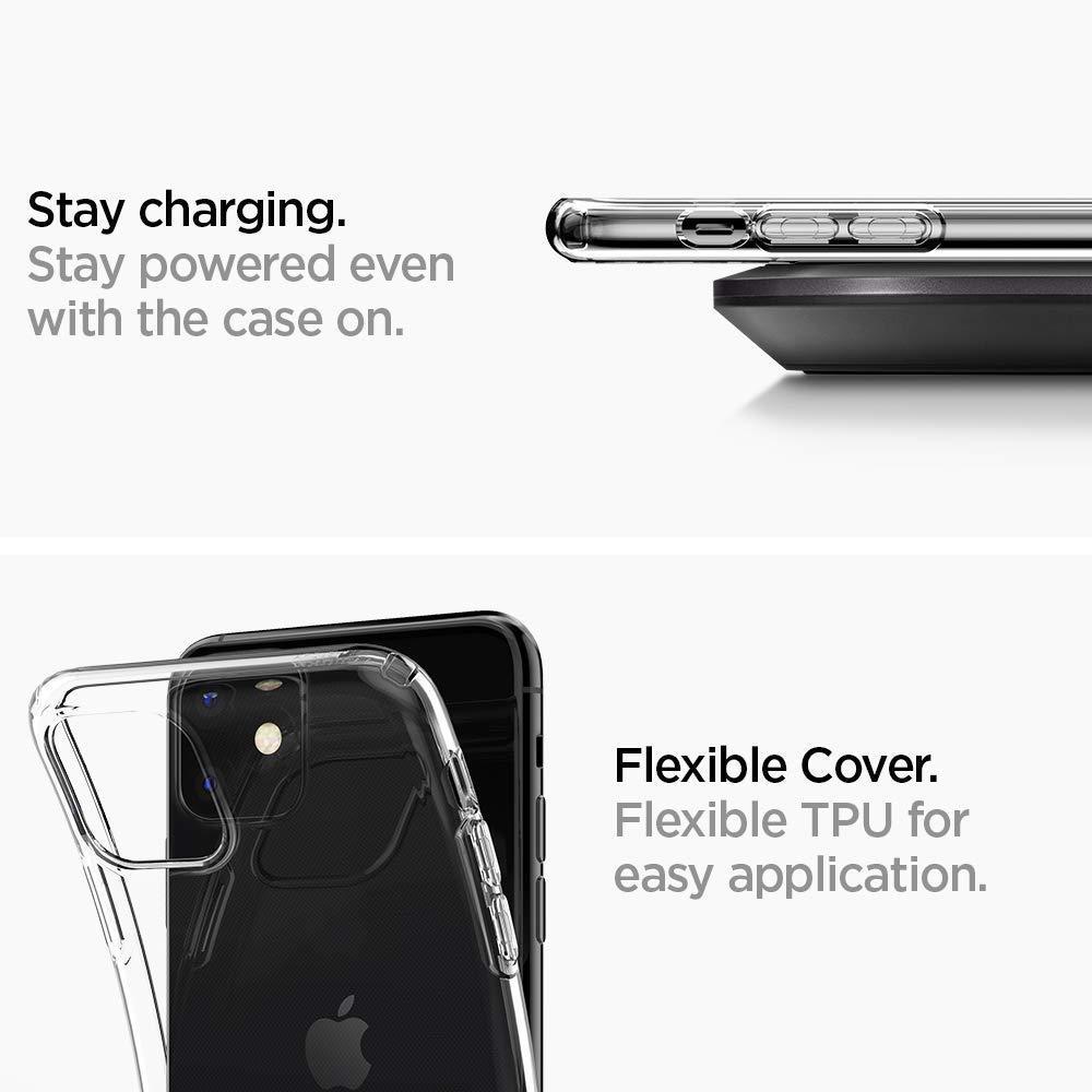 Spigen® Ultra Hybrid™ 076CS27185 iPhone 11 Case - Crystal Clear