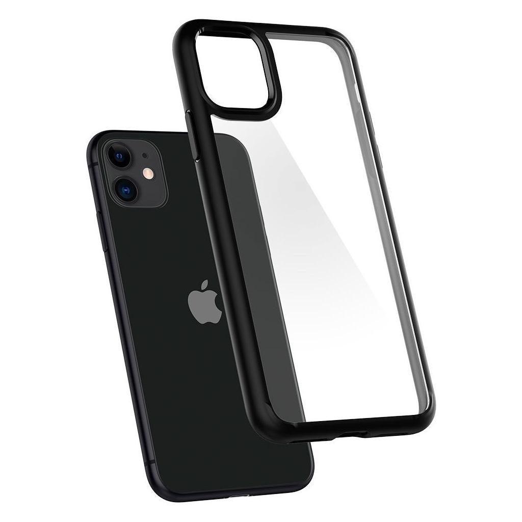 Spigen® Ultra Hybrid™ 076CS27186 iPhone 11 Case - Matte Black