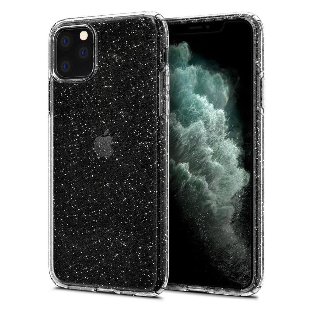 Spigen® Liquid Crystal Glitter™ 075CS27131 iPhone 11 Pro Max Case - Crystal Quartz
