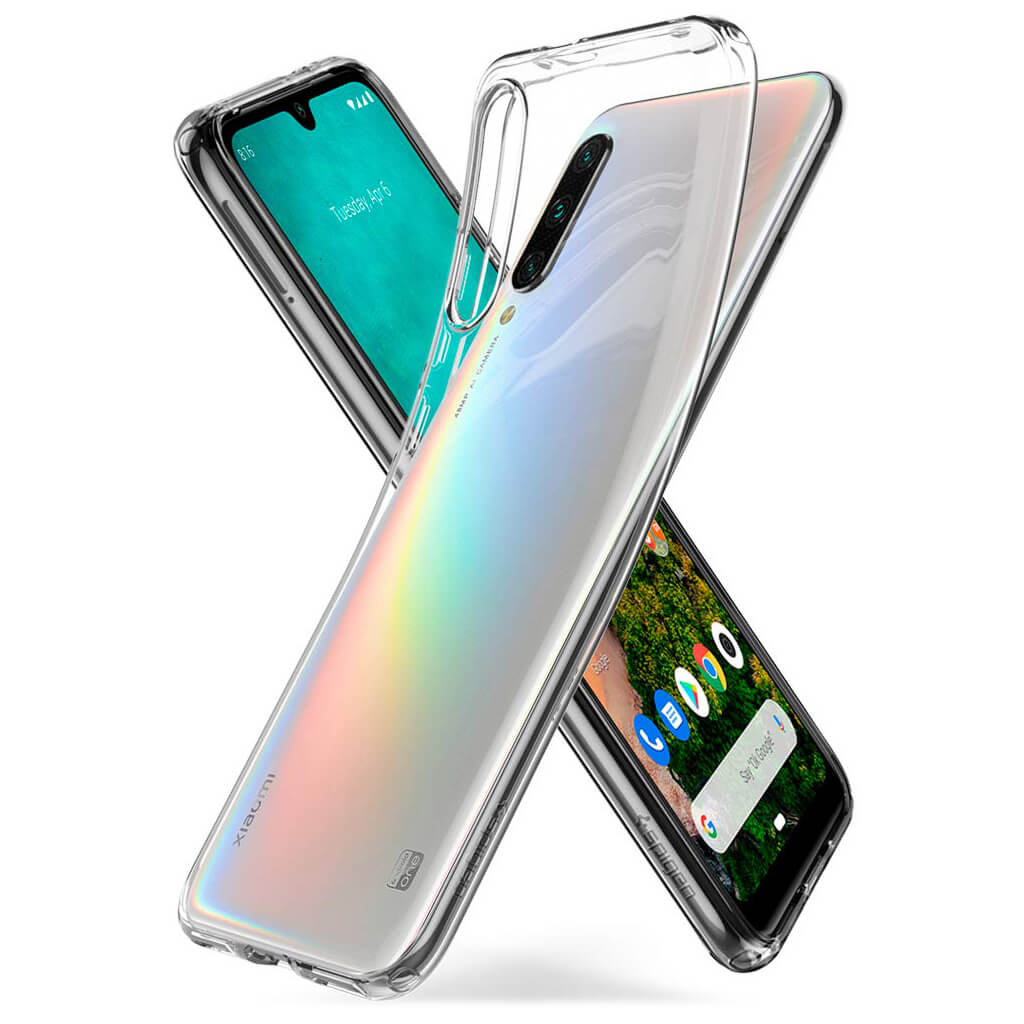Spigen® Liquid Crystal™ S51CS26398 Xiaomi Mi A3 Case - Crystal Clear