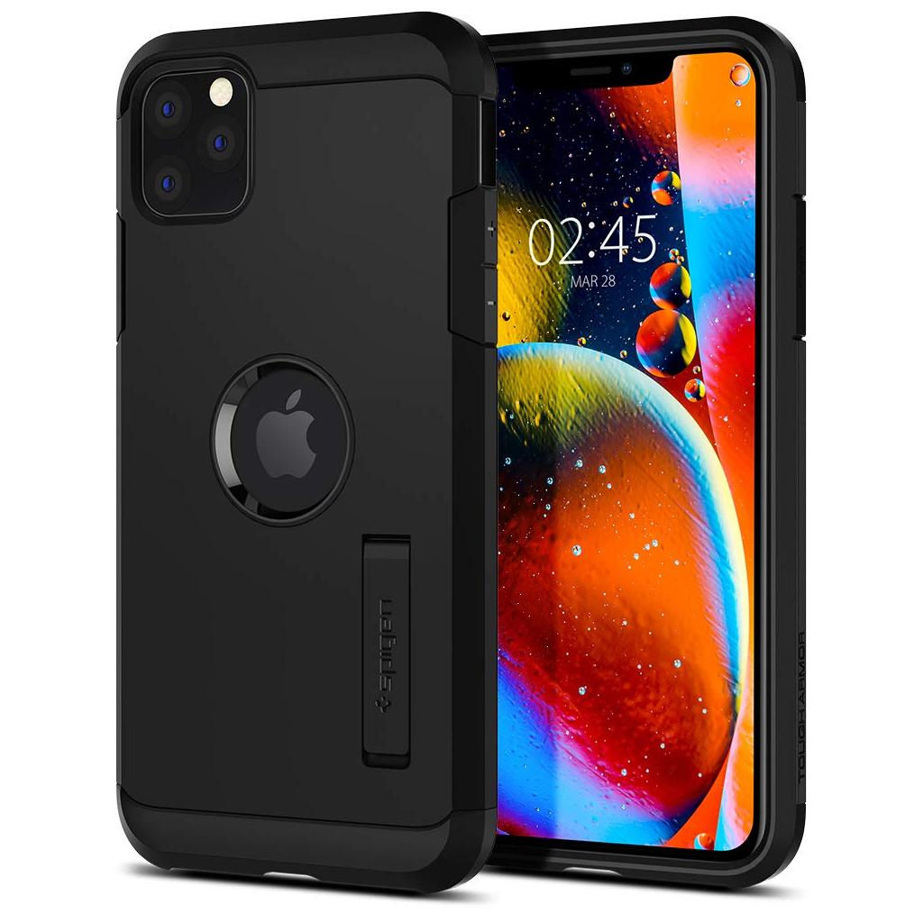 Spigen® Tough Armor™ 075CS27142 iPhone 11 Pro Max Case - Black