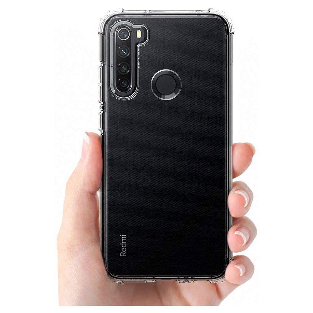 Spigen® Crystal Shell™ ACS00439 Xiaomi Redmi Note 8 Case - Crystal Clear