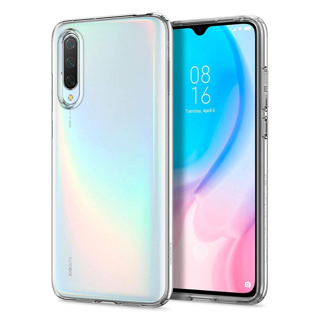 Spigen® Liquid Crystal™ S52CS26401 Xiaomi Mi 9 Lite Case – Crystal Clear
