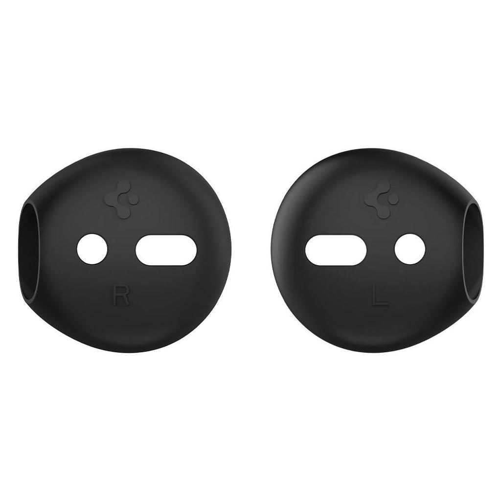 Spigen® RA220 AirPods Ear Tips (Silicone Cover) 066SD26296 Apple AirPods Case - Black
