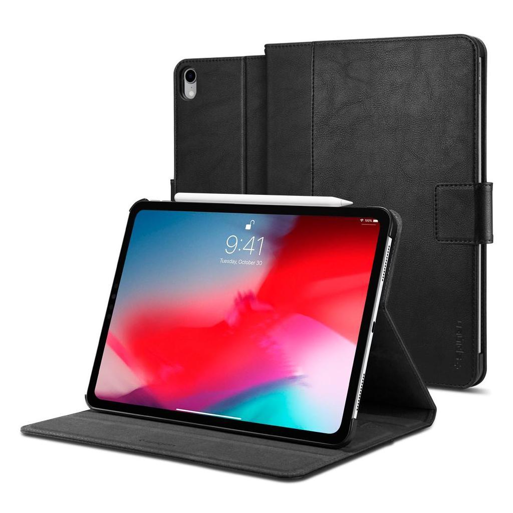 "Spigen® Stand Folio™ 068CS25646 iPad Pro 12.9"" (2018) Case - Black"