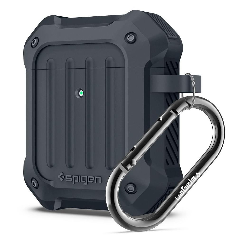 Spigen® Tough Armor™ 074CS26498 Apple AirPods Case - Charcoal