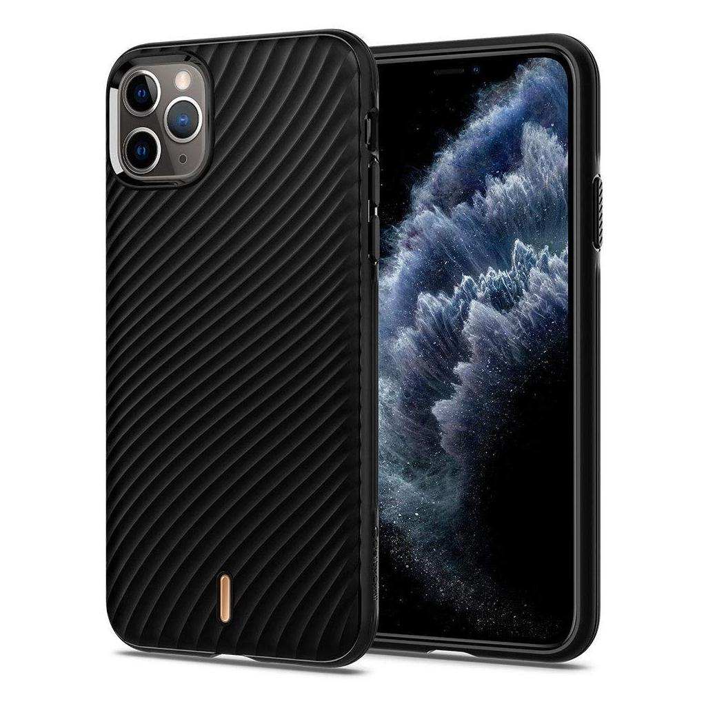 Spigen® Wave Shell Ciel by Cyrill Collection 075CS27175 iPhone 11 Pro Max Case - Black