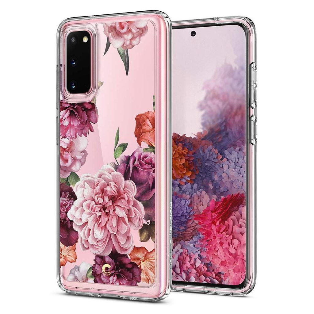 Spigen® Ciel by Cyrill Collection ACS00796 Samsung Galaxy S20 Case – Rose Floral