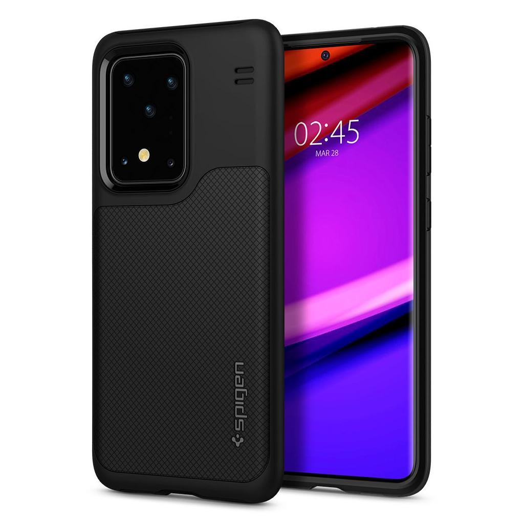 Spigen® Hybrid™ NX ACS00848 Samsung Galaxy S20 Ultra Case - Matte Black