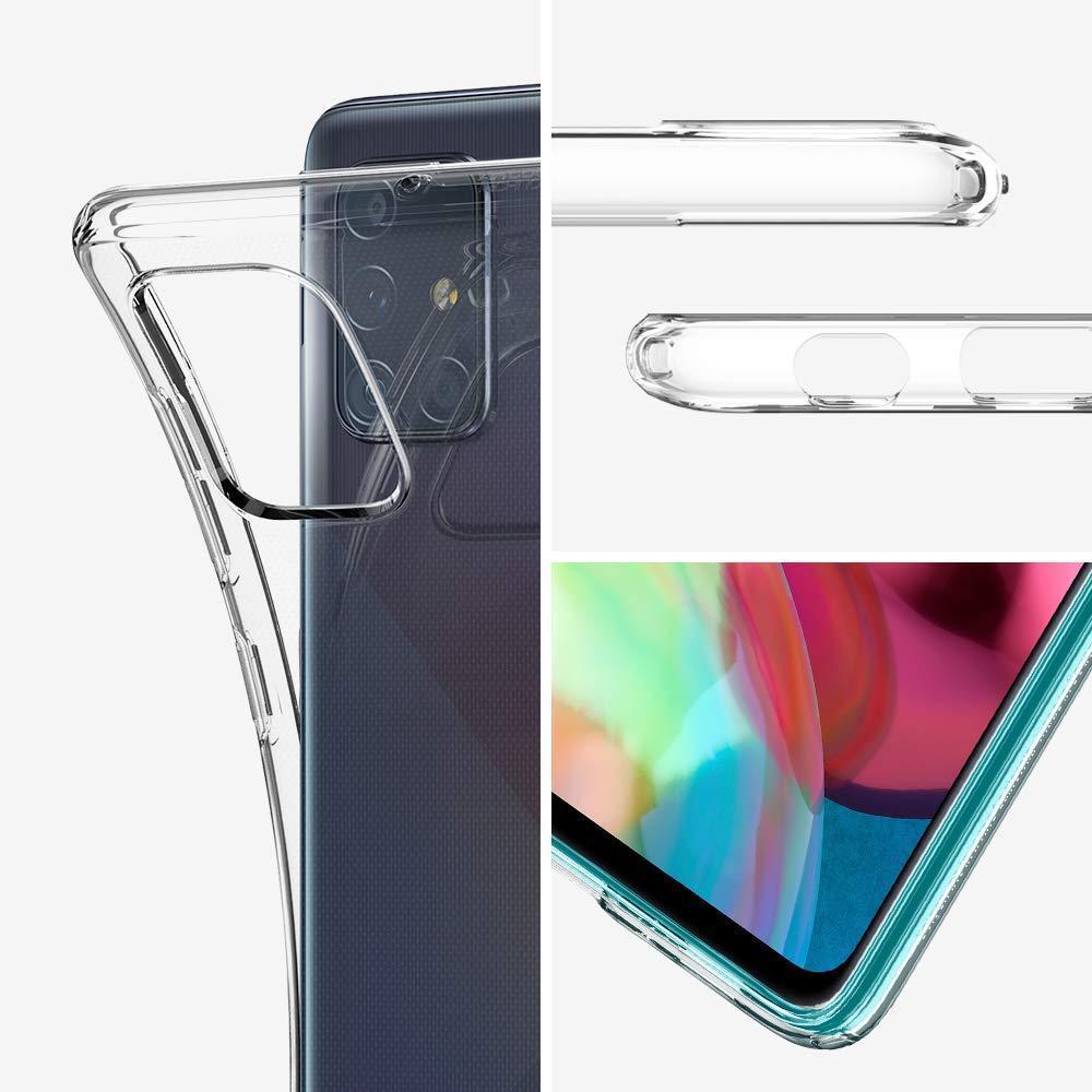 Spigen® Liquid Crystal™ ACS00566 Samsung Galaxy A71 Case - Crystal Clear