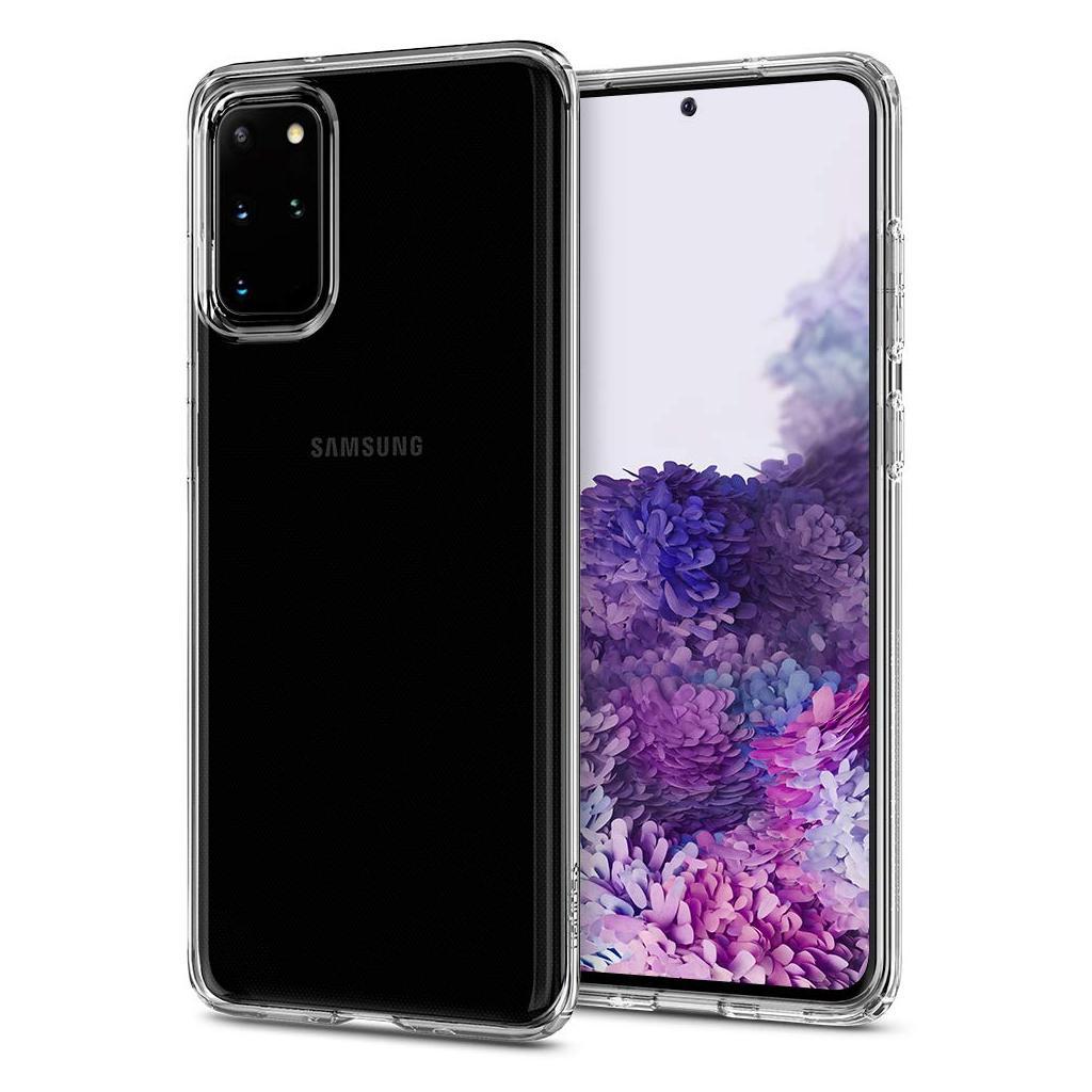 Spigen® Liquid Crystal™ ACS00751 Samsung Galaxy S20+ Plus Case - Crystal Clear