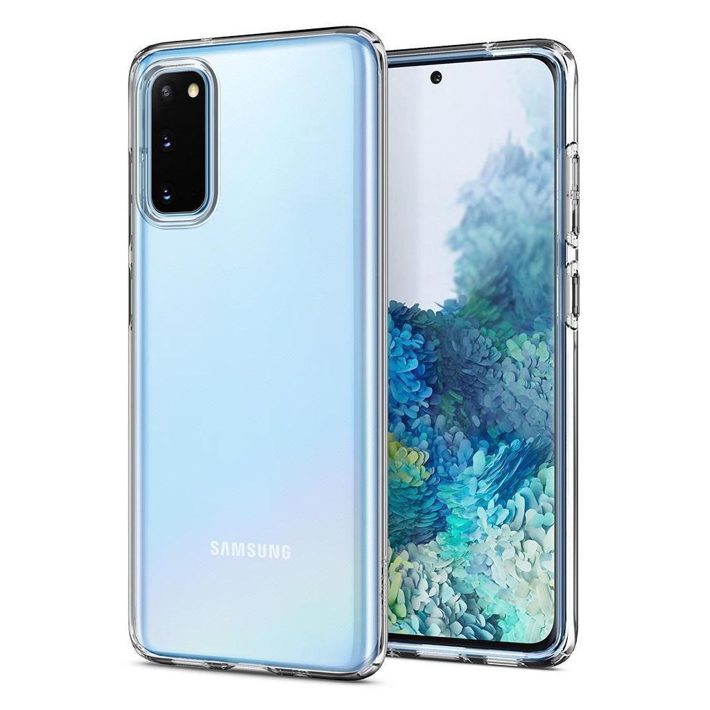 Spigen® Liquid Crystal™ ACS00789 Samsung Galaxy S20 Case - Crystal Clear