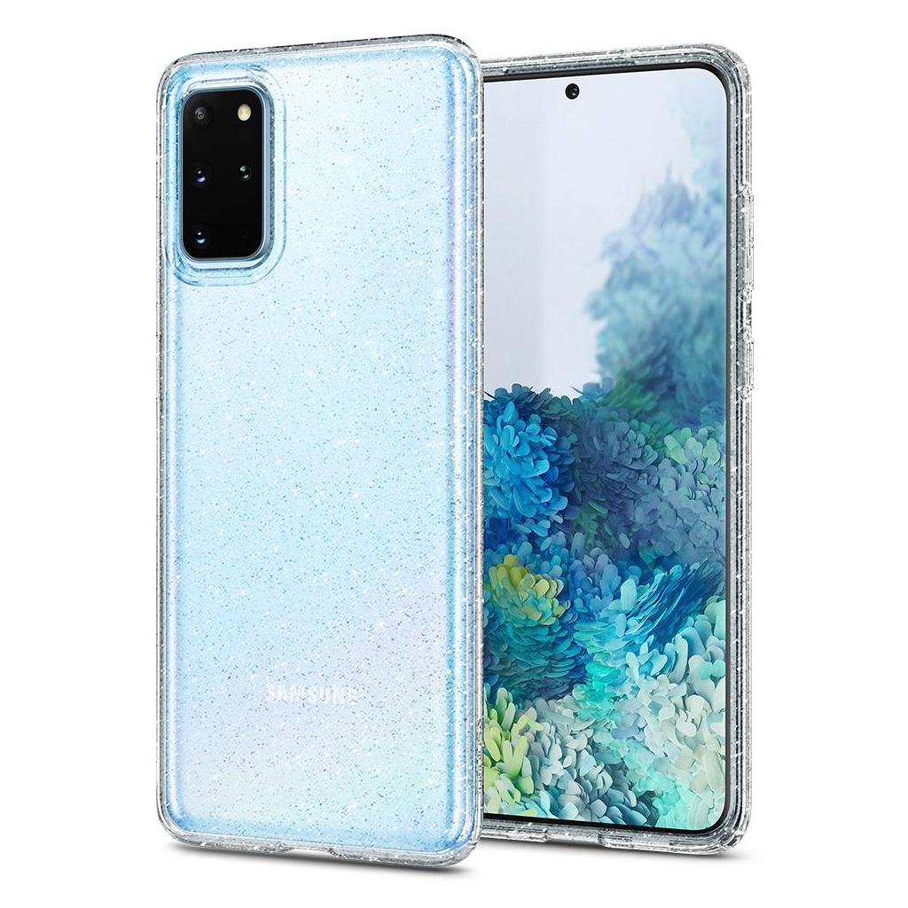 Spigen® Liquid Crystal Glitter™ ACS00752 Samsung Galaxy S20+ Plus Case - Crystal Quartz