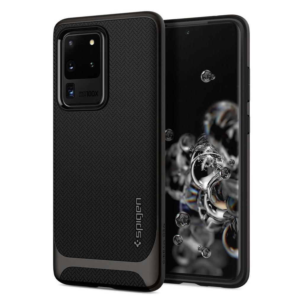 Spigen® Neo Hybrid™ ACS00718 Samsung Galaxy S20 Ultra Case - Gunmetal