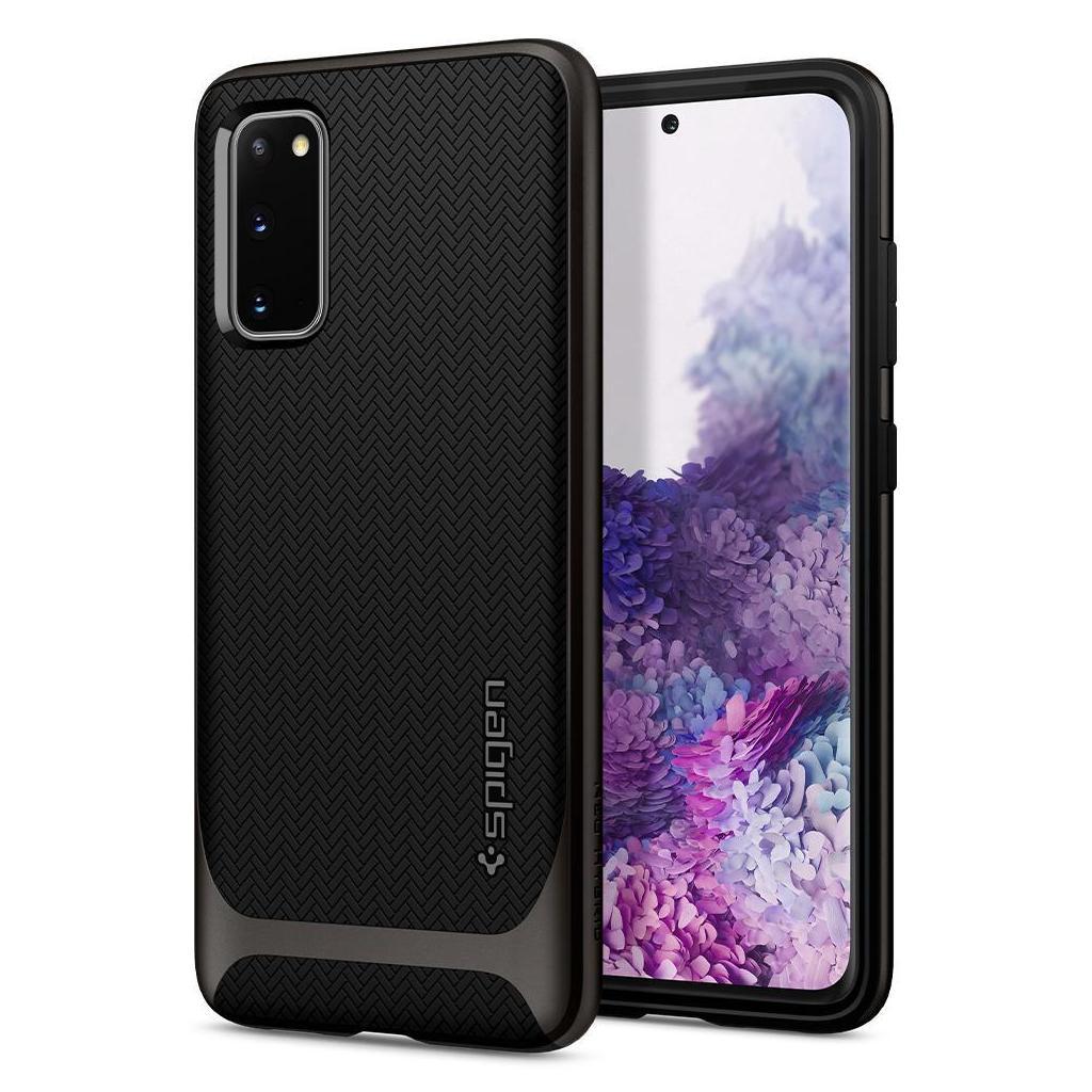Spigen® Neo Hybrid™ ACS00759 Samsung Galaxy S20+ Plus Case - Gunmetal