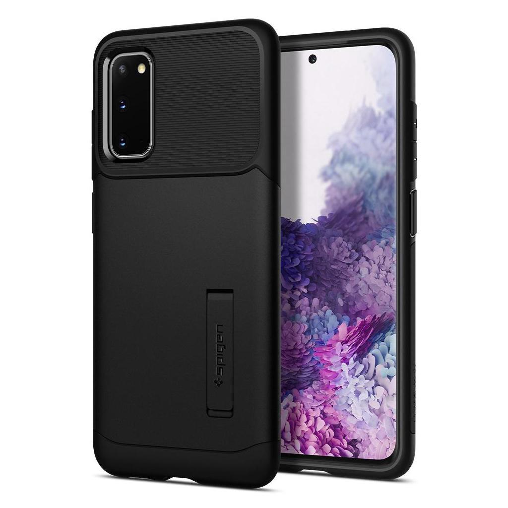Spigen® Slim Armor™ ACS00658 Samsung Galaxy S20 Case - Black