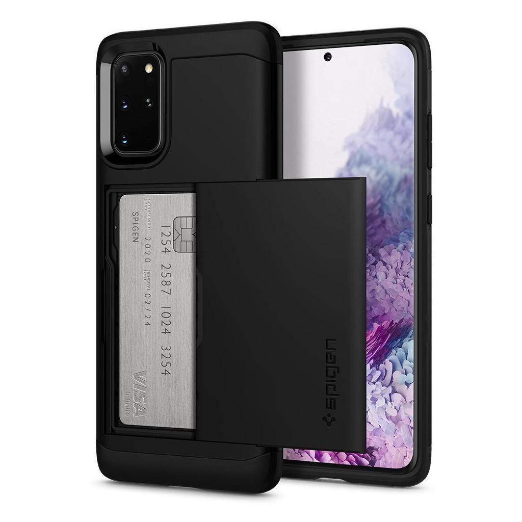 Spigen® Slim Armor™ CS™ ACS00760 Samsung Galaxy S20+ Plus Case - Black