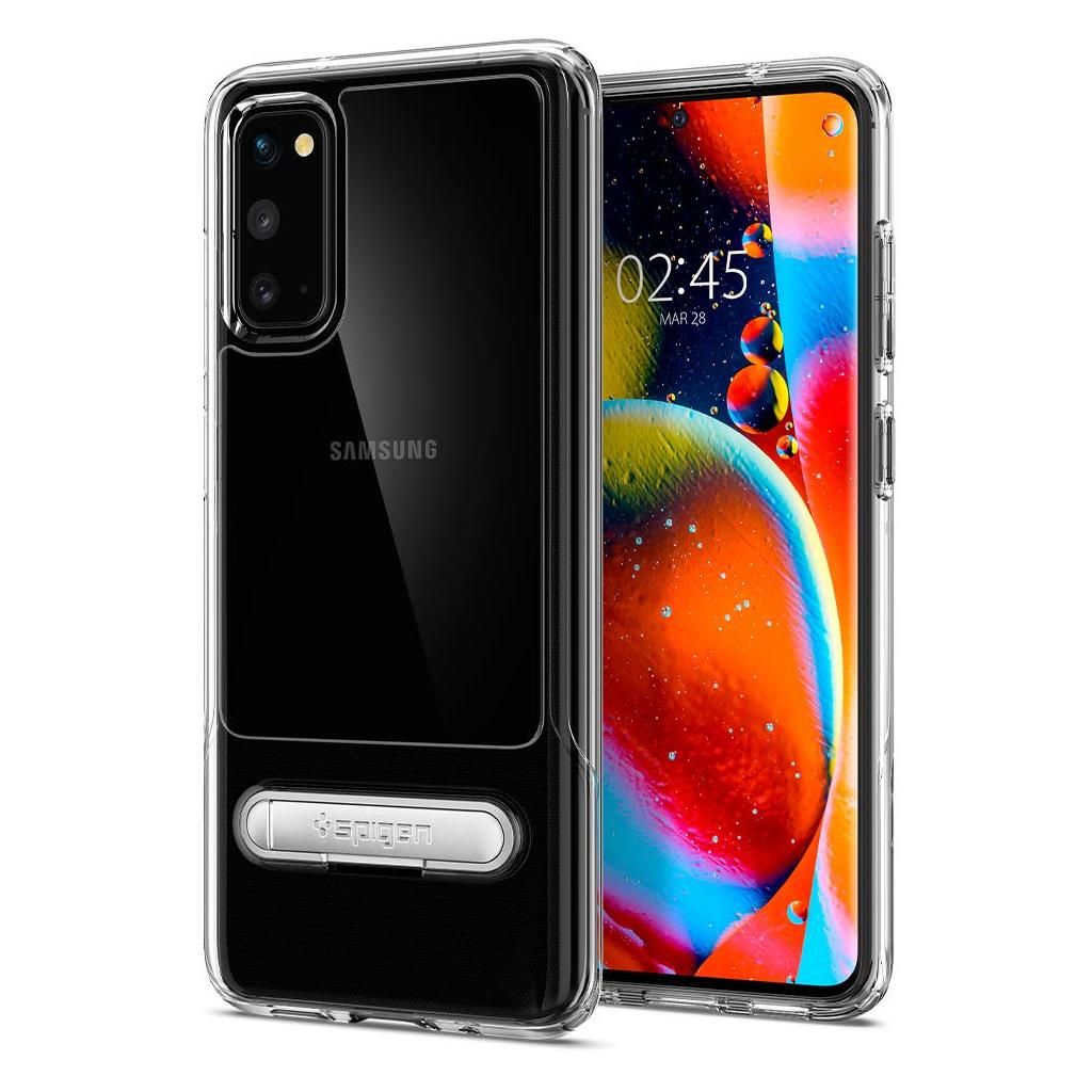 Spigen® Slim Armor Essential S™ ACS00661 Samsung Galaxy S20 Case - Crystal Clear