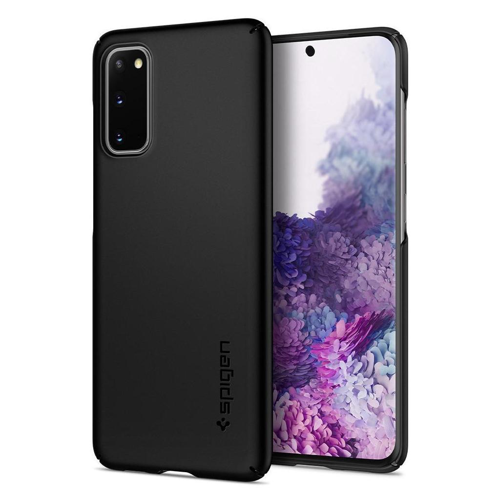 Spigen® Thin Fit™ ACS00788 Samsung Galaxy S20 Case - Black