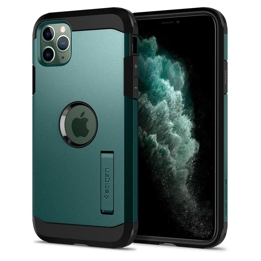 Spigen® Tough Armor™ ACS00414 iPhone 11 Pro Max Case - Midnight Green