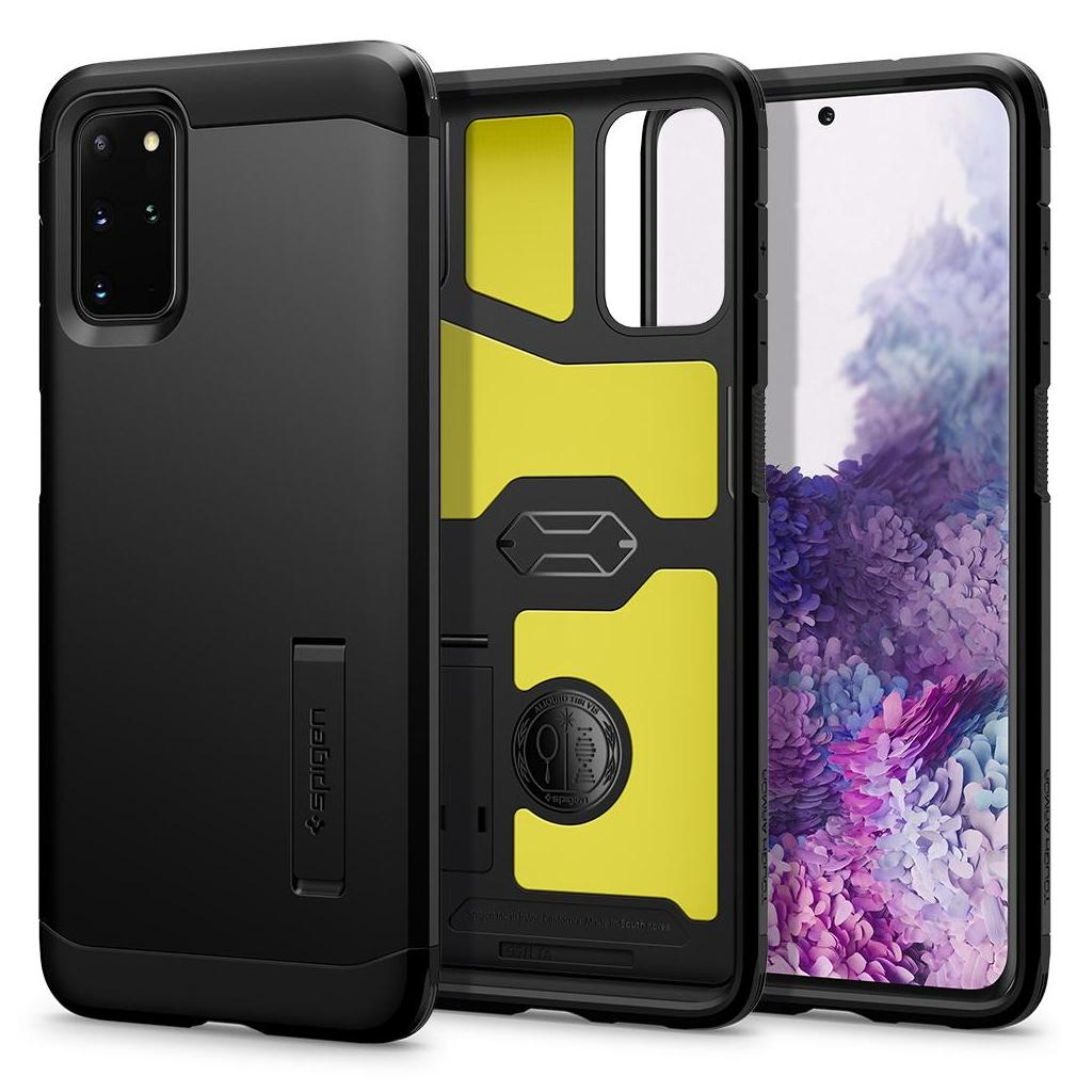 Spigen® Tough Armor™ ACS00757 Samsung Galaxy S20+ Plus Case - Black
