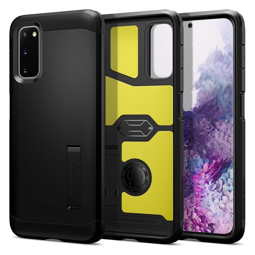 Spigen® Tough Armor™ ACS00794 Samsung Galaxy S20 Case - Black