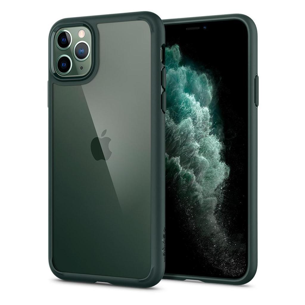 Spigen® Ultra Hybrid™ ACS00411 iPhone 11 Pro Max Case - Midnight Green