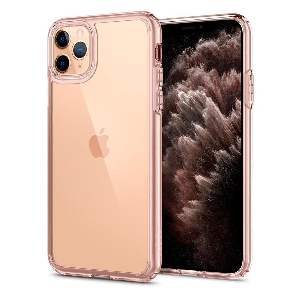 Spigen® Ultra Hybrid™ ACS00412 iPhone 11 Pro Max Case - Rose Crystal