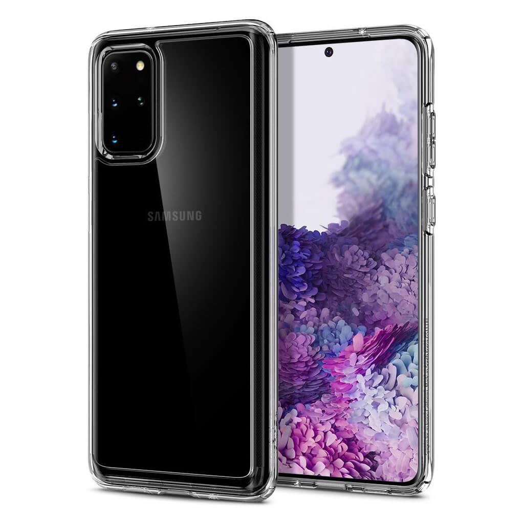 Spigen® Ultra Hybrid™ ACS00755 Samsung Galaxy S20+ Plus Case - Crystal Clear