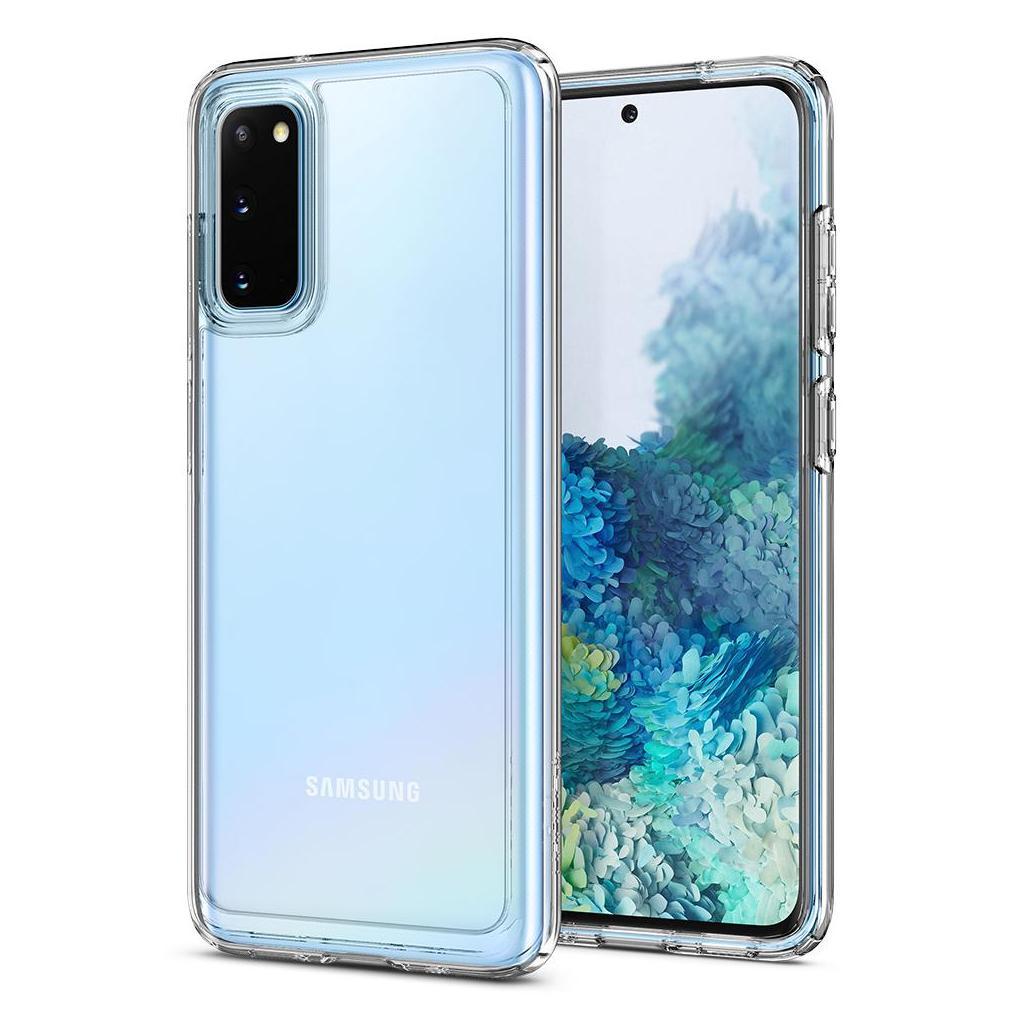 Spigen® Ultra Hybrid™ ACS00792 Samsung Galaxy S20 Case - Crystal Clear