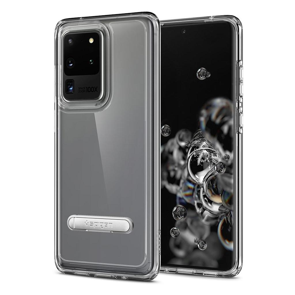 Spigen® Ultra Hybrid S™ ACS00715 Samsung Galaxy S20 Ultra Case - Crystal Clear