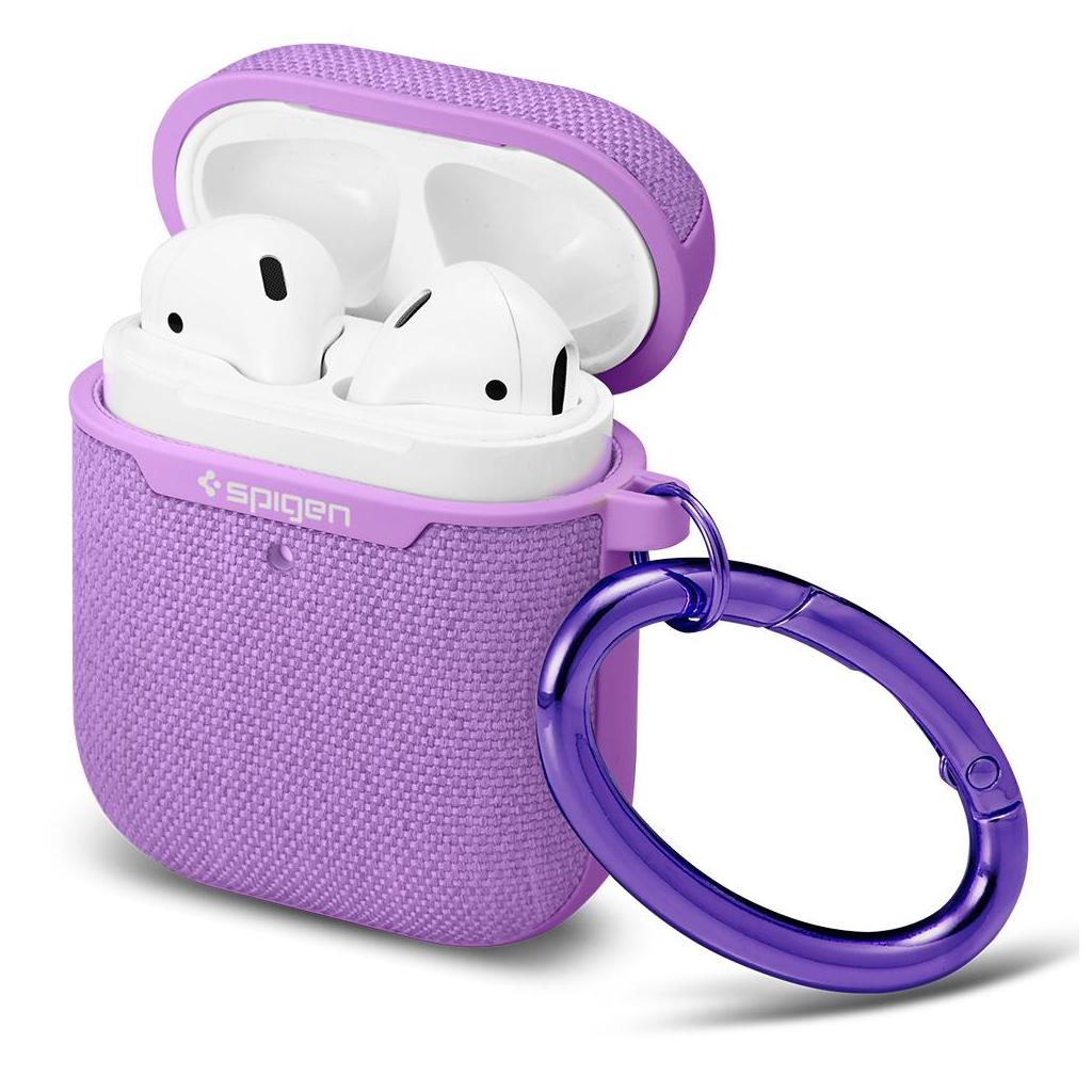 Spigen® Urban Fit™ 074CS27599 Apple Airpods 1 & 2 Case - Purple