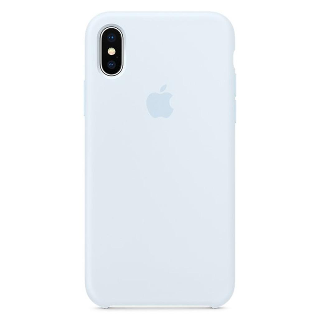 Apple MRRD2ZM/A iPhone X Silicone Case - Sky Blue