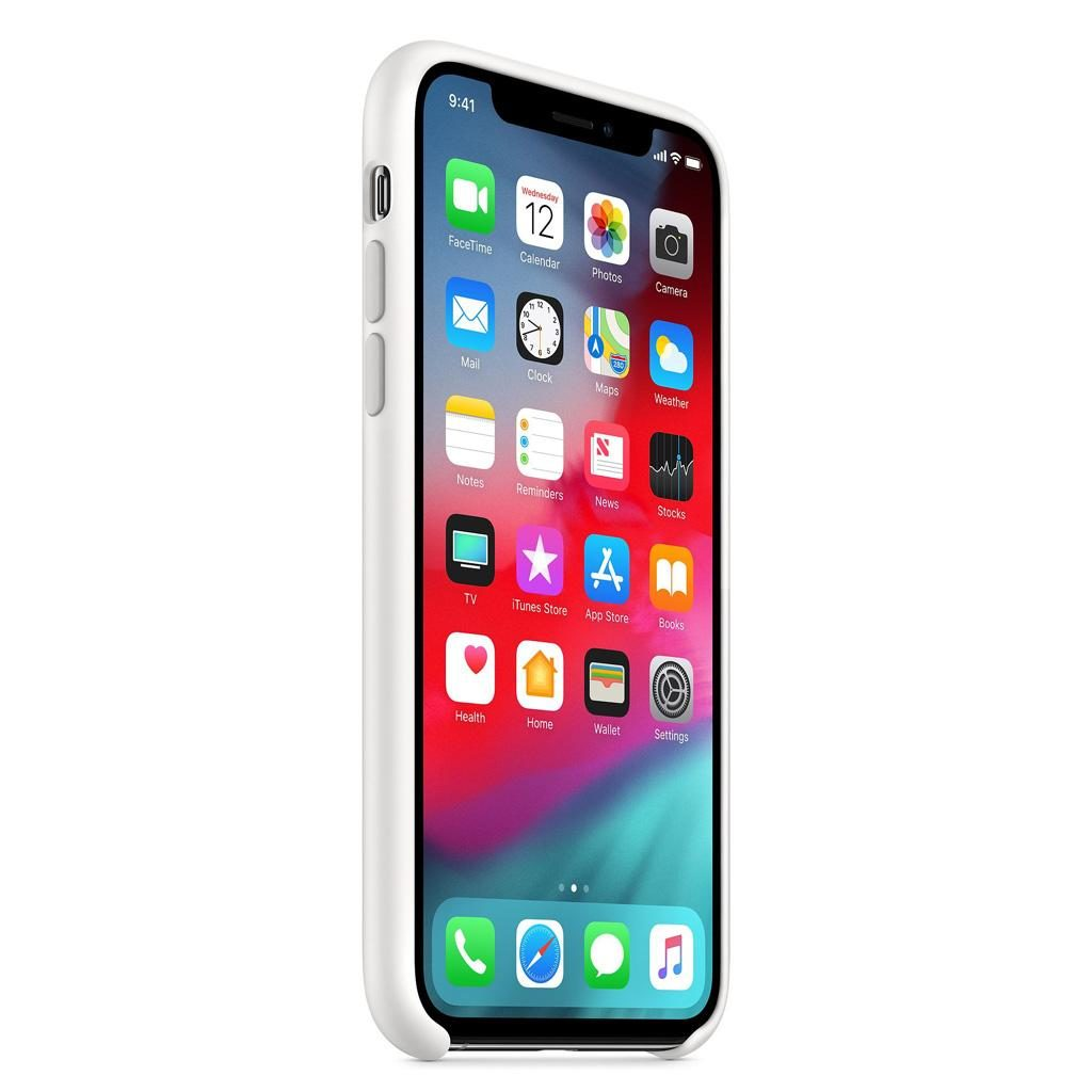 Apple MRW82ZM/A iPhone XS Silicone Case - White