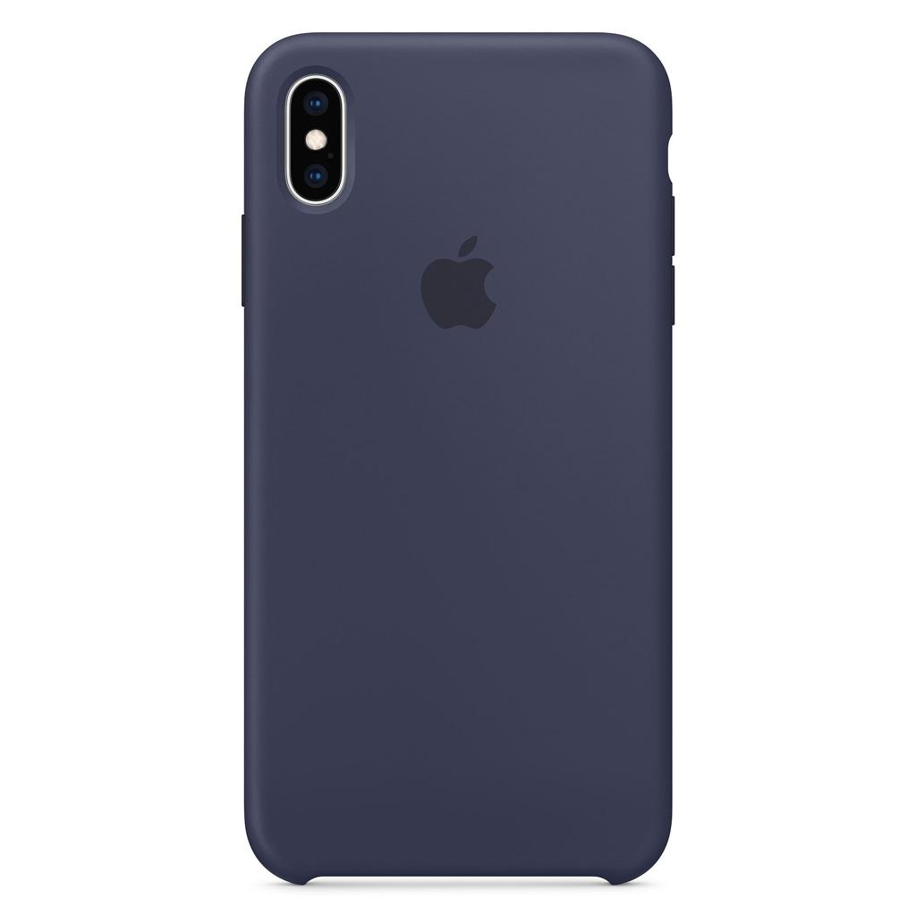 Apple MRWG2ZM/A iPhone XS Max Silicone Case – Midnight Blue