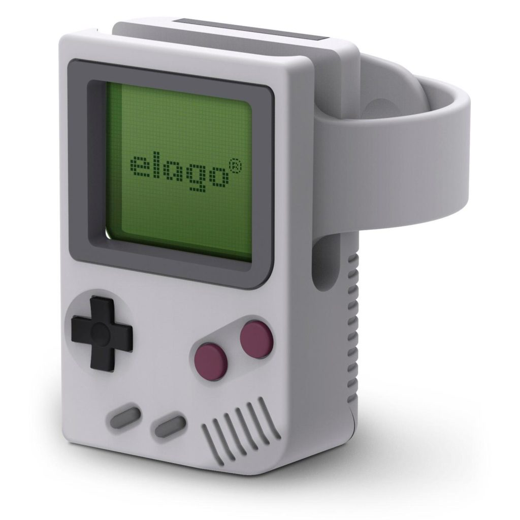 Elago® W5 Vintage EST-WT5-LGY Apple Watch Charging Station - Light Grey