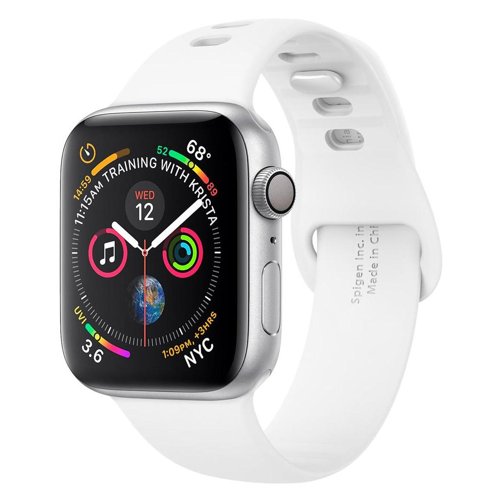 Spigen® Air Fit™ 061MP25407 Apple Watch Series 5 / 4 / 3 / 2 / 1 (40mm / 38mm) Band - White
