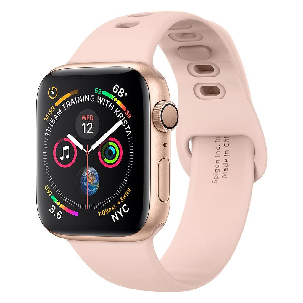 Spigen® Air Fit™ 062MP25401 Apple Watch Series 5 / 4 / 3 / 2 / 1 (44mm / 42mm) Band - Rose Gold