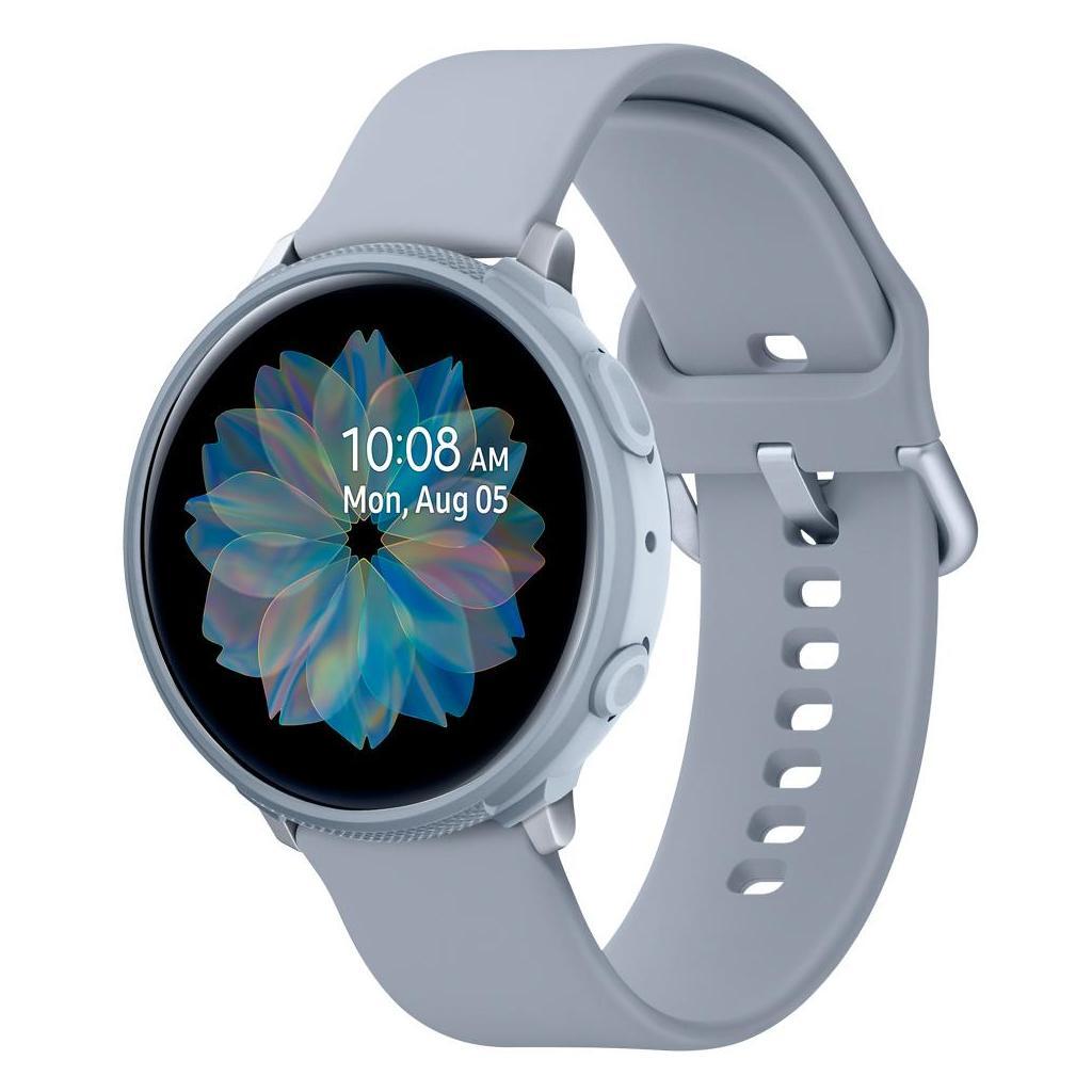 Spigen® Liquid Air™ ACS00817 Galaxy Watch Active 2 (44mm) Case - Cloud Silver
