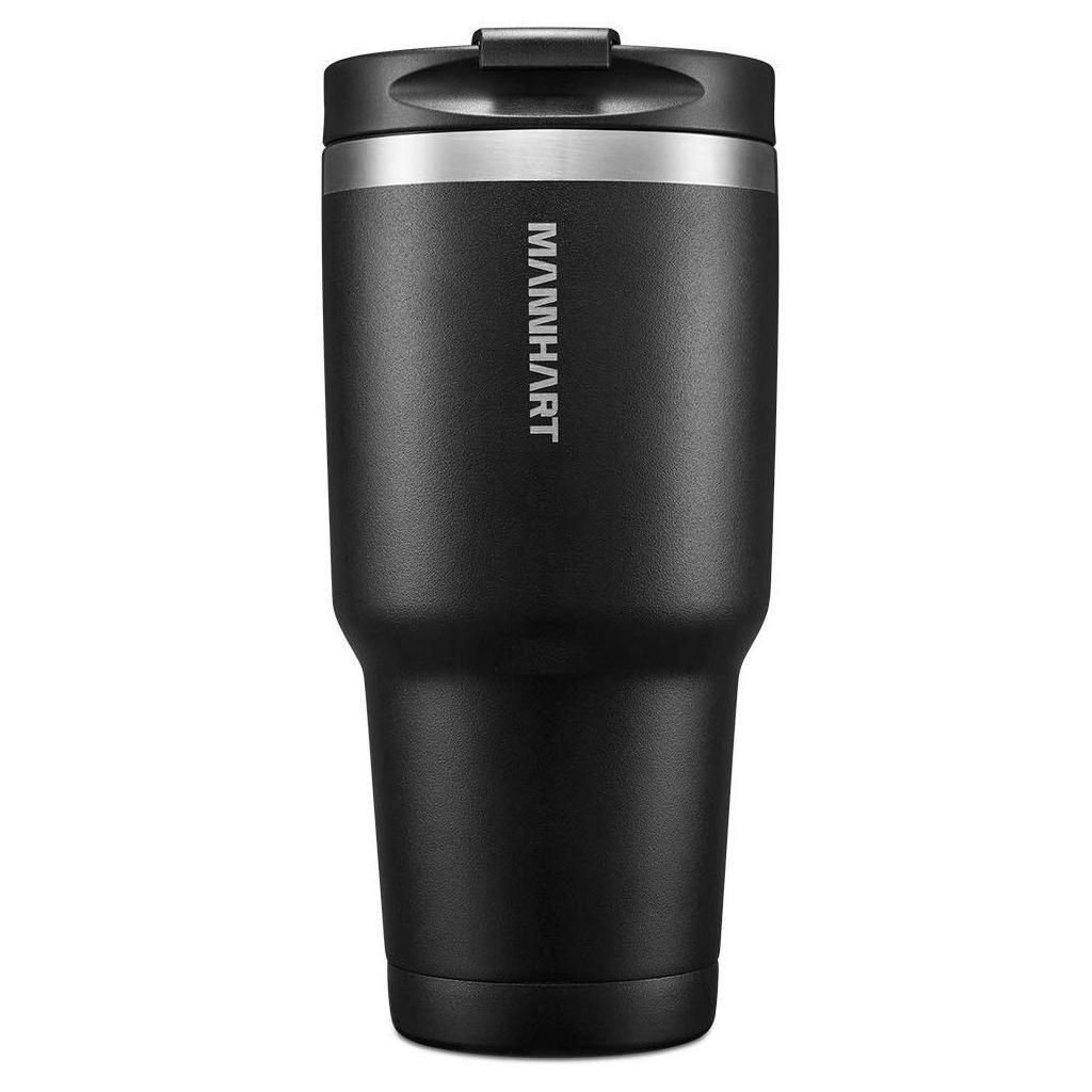 Spigen® Mannhart B201 Kubek 000EH22643 887ml Stainless Steel Travel Mug - Matte Black
