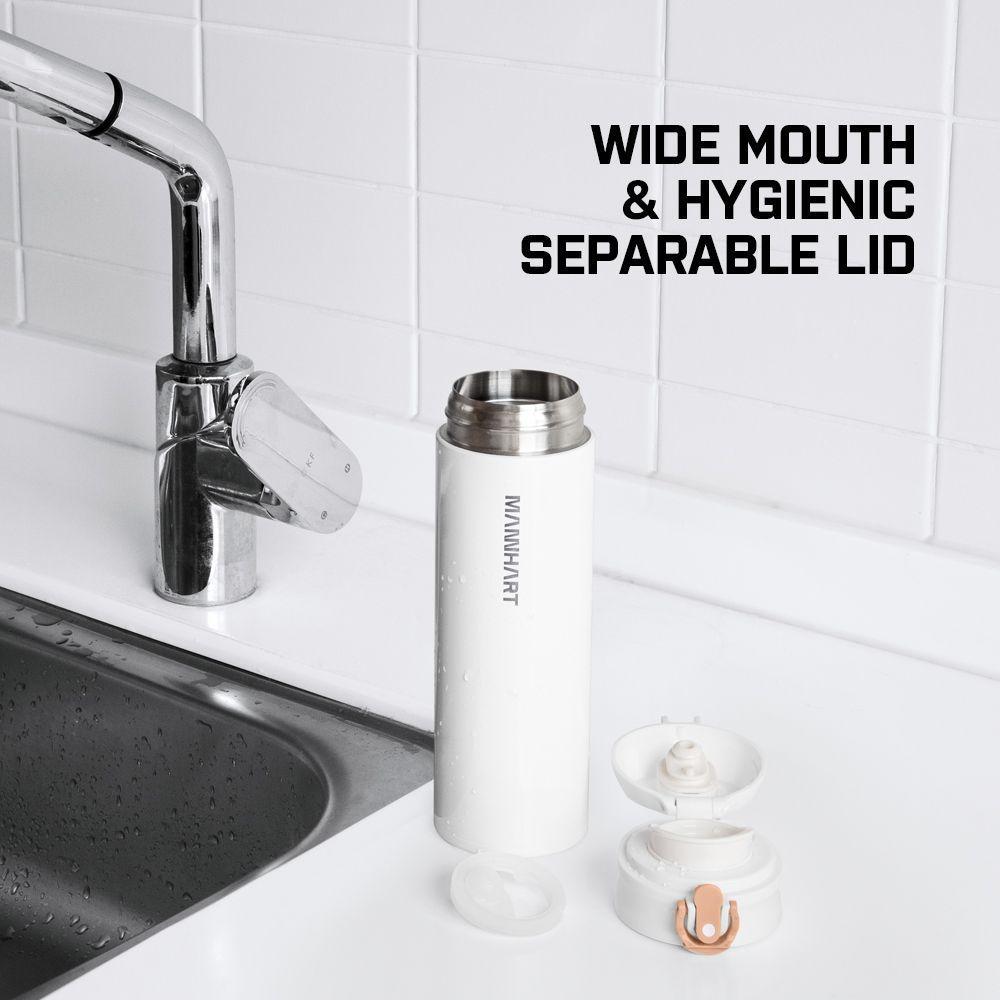 Spigen® Mannhart B203 Kubek 000HP26047 500ml Travel Mug - White