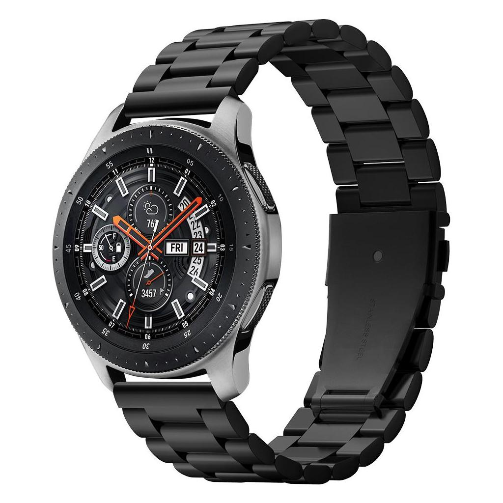 Spigen® Modern Fit™ 600WB24983 Samsung Galaxy Watch (46mm) Stainless Steel Band - Black