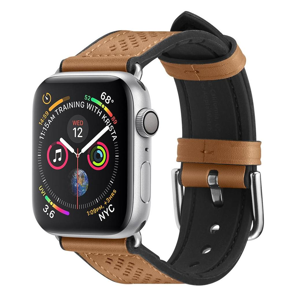 Spigen® Retro Fit™ 061MP25077 Apple Watch Series 5 / 4 / 3 / 2 / 1 (40mm / 38mm) Band - Brown