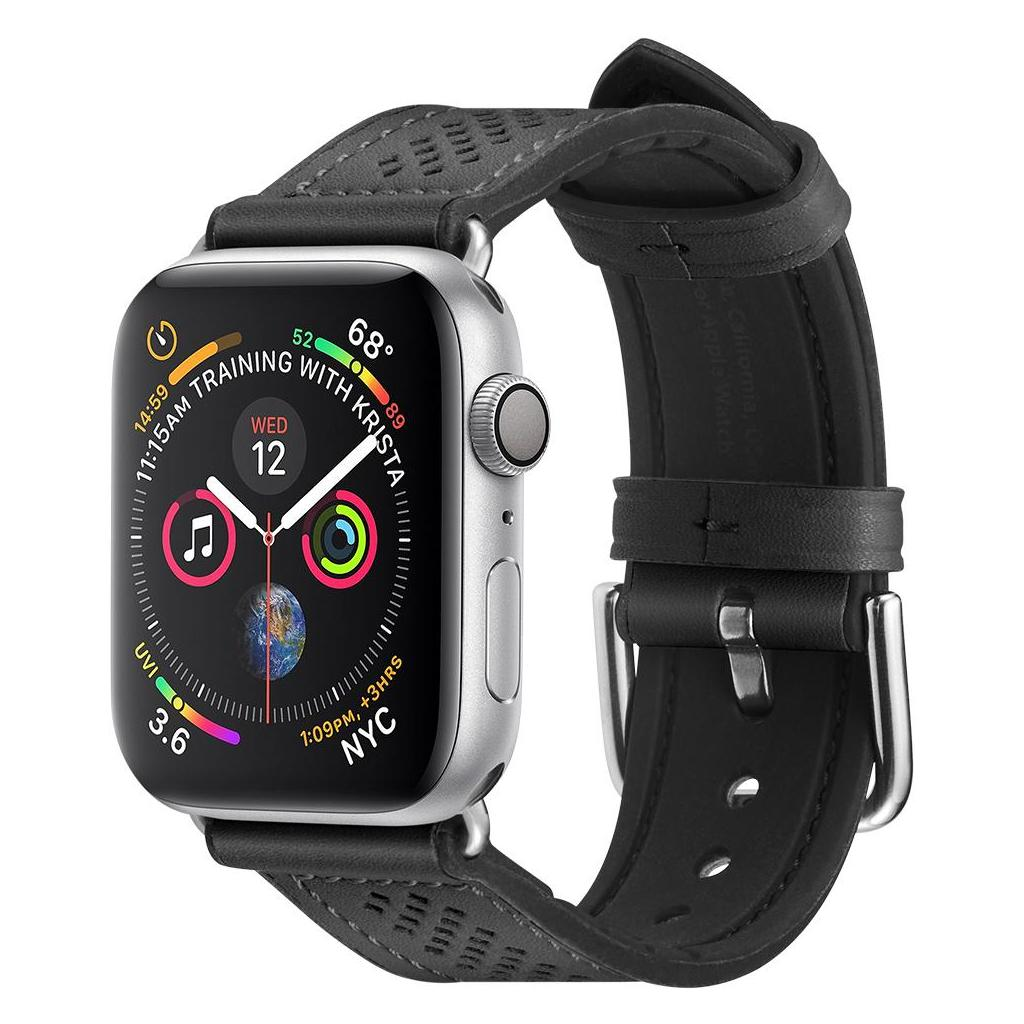 Spigen® Retro Fit™ 061MP27003 Apple Watch Series 5 / 4 / 3 / 2 / 1 (40mm / 38mm) Band - Black