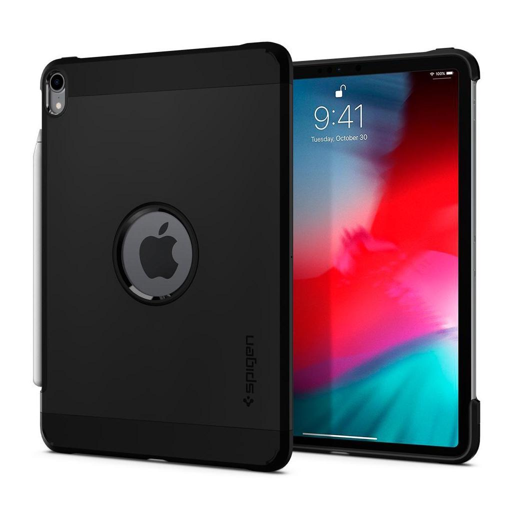 Spigen® Tough Armor™ 068CS25200 iPad Pro 12.9 (2018) Case - Black