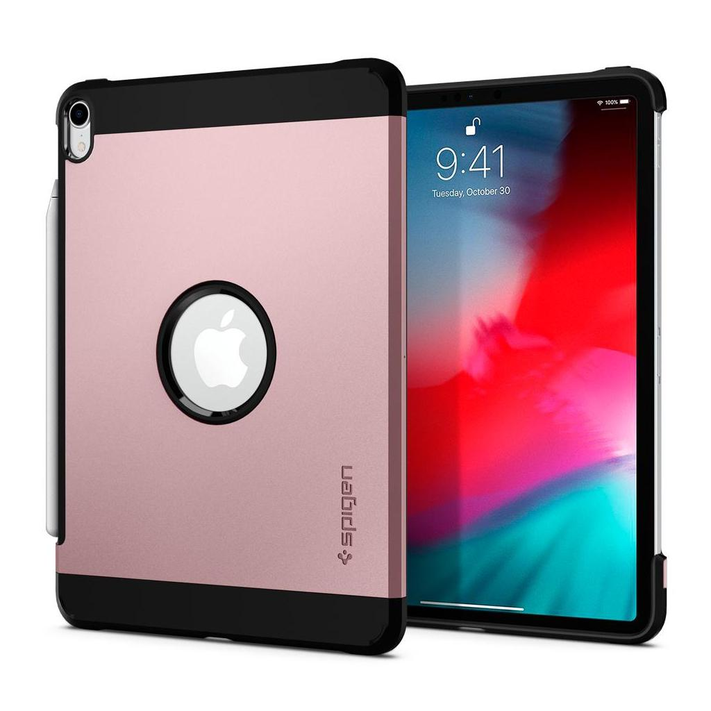 Spigen® Tough Armor™ 068CS25202 iPad Pro 12.9 (2018) Case - Rose Gold