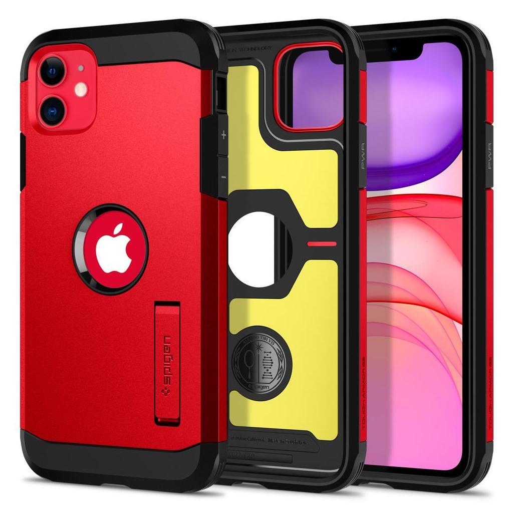 Spigen® Tough Armor™ ACS00408 iPhone 11 Case - Red